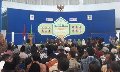 Kajian Ramadhan PWM Jatim di Univ. Muhammadiyah Malang